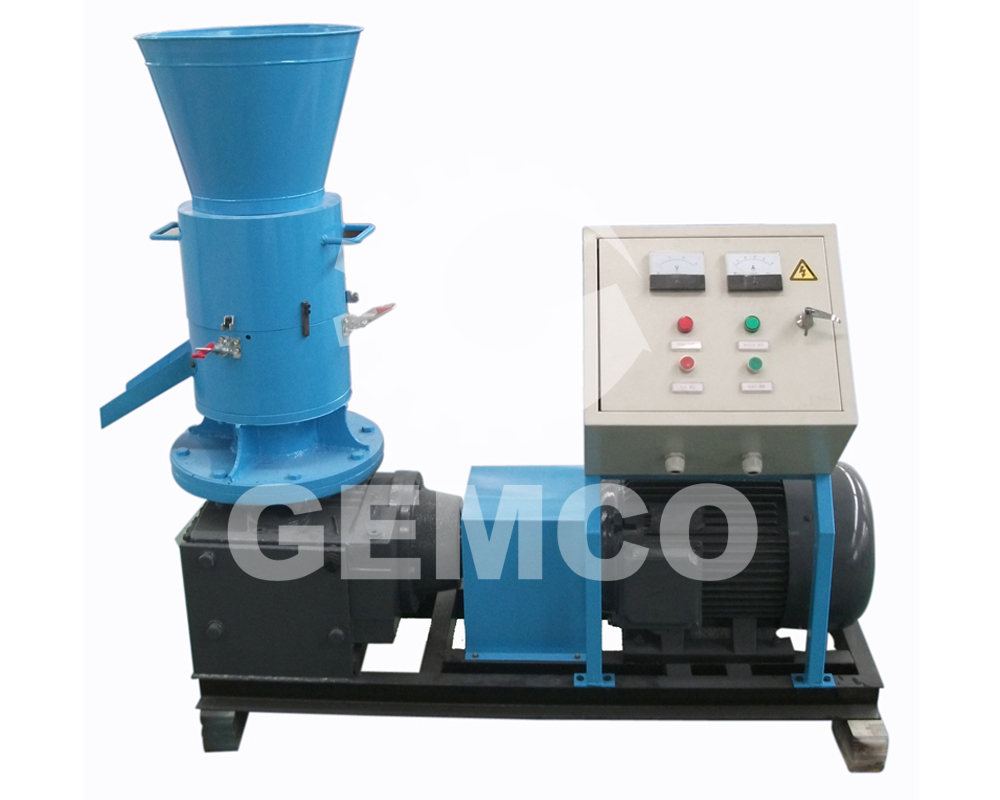 Flat Die Wood Pellet Mill Has Many Advantages to Be Chosen